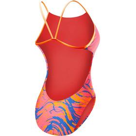 TYR Wave Rider Cutoutfit - Bañador Mujer - rosa/Multicolor